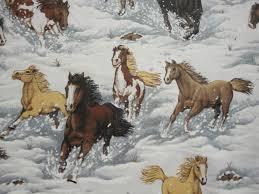 Horse Fabric By Yard - Quilting Horse Fabric &  Adamdwight.com