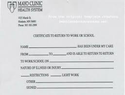 How To Get Doctors Note Fake Doctors Note To The Rescue Knogim Micks