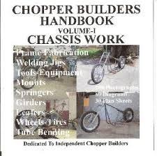 chopper bobber rigid harley motorcycle frame jig plans neck
