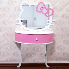 hello kitty furniture. Hello Kitty Bathroom Mirror Decorative Vanity Dresser And Dressing Table Color Furniture E