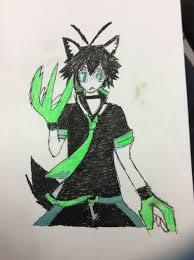 Photo Wolf Spirit Keito In The Album Colored Fan Art Paper