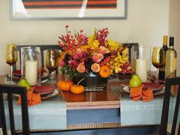 ... Gorgeous Accessories For Table Decoration Using Various Thanksgiving Floral  Table Centerpiece Ideas : Inspiring Picture Of ...