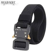 Alloy Dress Size Chart Best Ybt Unisex Canvas Belt Quick Release Alloy Insert Buckle Men Nylon Belt Outdoor Casual Sport Men Cowboy Belt Size Chart Batman Belt From