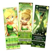 Tinkerbell Invitation Blank Tinkerbell Birthday Invitations Also For Frame Amazing