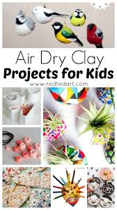 Air Dry Clay Projects - we LOVE working with air dry clay and there are many