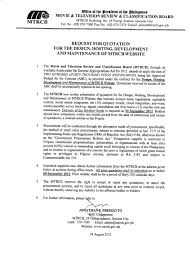Procurements – Mtrcb