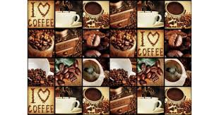 Find i love coffee pictures and i love coffee photos on desktop nexus. I Love Coffee Coffee Squares Photo Wallpaper Mural 3459ve