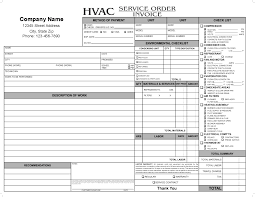hvac invoice forms invoice template ideas electrical service invoice template hvac service order invoice hvac invoice forms