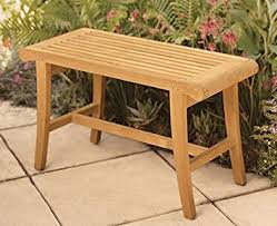 Amazon New Grade A Teak Wood Luxurious Outdoor Garden Bath
