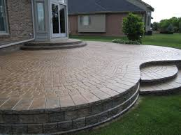 raised paver patio.  Patio Great Raised Paver Patio House Design Suggestion  Inspiration 21290 Hyunky Inside