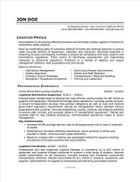 Resume Templates For Military To Civilian