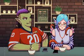 Historically, it's been difficult for roasters and retailers to scale a cold coffee program for growth across all these channels. Been Playing Coffee Talk And These Two Give Me Life Girlgamers