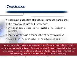 Conclusion Of Pollution Essay