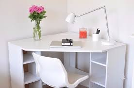 corner desk ikea. Interesting Corner Ikea Borgsjo Corner Desk  With Storage In N