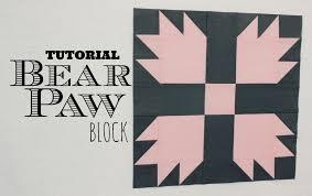 TUTORIAL: Bear Paw Block   3and3quarters - YouTube &  Adamdwight.com