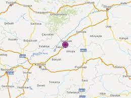 Kayseri'de 4,6 büyüklüğünde deprem | NTV