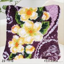 european and american style latch hook rug kits diy needlework unfinished crocheting rug yarn cushion mat embroidery carpet porch chair cushions red patio