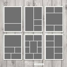 Picture Collage Templates Free Download Photo Template Storyboard Template Photo Collage Template