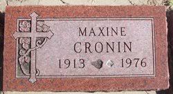 Maxine Morrison Cronin (1913-1976) - Find A Grave Memorial