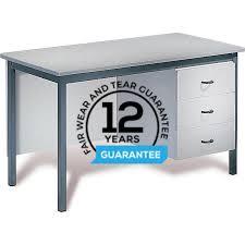 1200mm x 600mm reme heavy duty teacher desks