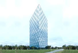 glass facade design office building. Glass Facade Design Office Building. Building Festo Automationcenter Biomimcry Panels Modern