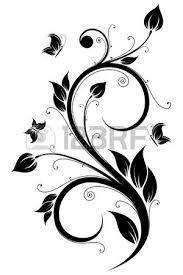 Stock Photo Disegni Per Decorazioni Disegno Floreale Disegno