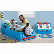 details about thomas the tank engine toddler bed kids bedroom furniture blue bed durable new