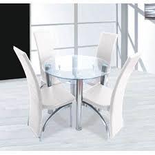 chairs glass round glass tables and dining room round glass table set exquisite and 2