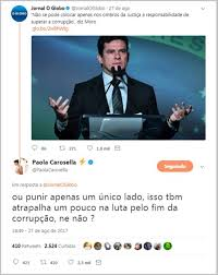 Opinião de Paola Carosella sobre Sérgio Moro provoca polêmica