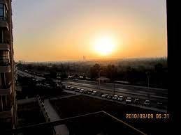 الشمس وقت الشروق 9/9/2010 By FO