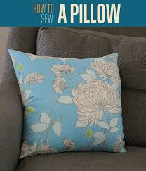 how to make a diy pillow cover how to sew throw pillow covers tutorial