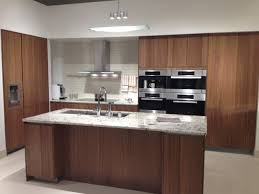 siematic cabinetry walnut veneer contemporary kitchen san veneer kitchen cabinets