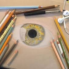 eyes drawings 19 year old artist draws unbelievably realistic eyes using just