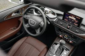 audi 2015 a6 interior. i find black interiors a bit drab so like to have the leather surfaces in lighter color but also dislike going all way beige audi offers this 2015 a6 interior