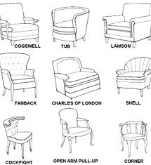 accent chair types best of styles chairs medium size and names furniture antique pictures t