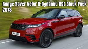2018 land rover hse. brilliant 2018 2018 range rover velar rdynamic d300 hse black pack to land rover hse