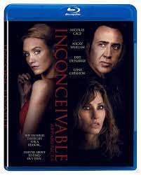 Amazon.com: Inconceivable (Blu-ray) : Nicolas Cage, Nicky Whelan, Gina  Gershon, Eva Marie, Faye Dunaway, Jonathan Baker: Movies & TV