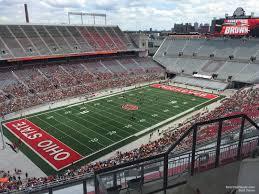 The Shoe Ohio State Seating Chart Ohio Stadium Section 11c Rateyourseats Com
