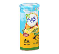 Crystal Light Lemon Decaf Iced Tea Drink Mix