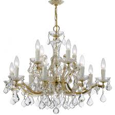 house of hampton griffiths 12 light crystal chandelier reviews crystal chandelier image permalink