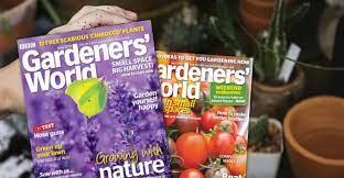 spend vouchers on gardeners world