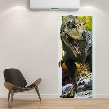 88x200cm pag imitative door 3d wall sticker fiery dragon throughout 2018 3d dinosaur wall art decor on 3d dinosaur wall art decor with explore photos of 3d dinosaur wall art decor showing 3 of 20 photos