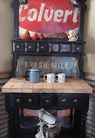 coffee station furniture. bakers rack turned coffee station painted furniture repurposing upcycling makeover using l