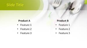 Table Setting Templates Free Table Setting Powerpoint Template Free Powerpoint