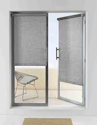 shades for glass doors