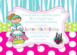 Free Printable Pamper Party Invitation Templates Pamper Party In
