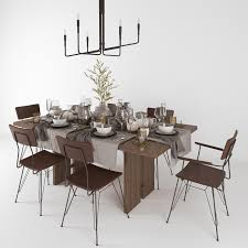 crate and barrel monarch shiitake dining table elston dining chair clive bronze chandelier