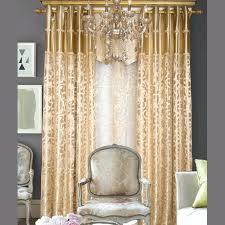 gold curtains bedroom style light gold polyester jacquard fl bedroom or living room curtains without valance