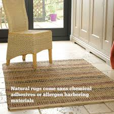 natural rugs keep away allergies