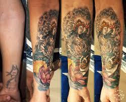 тату индийские на предлечьях фото татуировки в стиле кавер ап